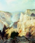 Grand Canyon of the Yellowstone Park Poster Art Print by Thomas Moran