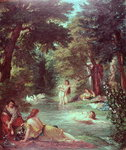 Turkish Women Bathing Poster Art Print by Joseph Mallord William Turner