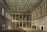 Interior of Concert Room, from 'Bath Illustrated by a Series of Views', engraved by John Hill Poster Art Print by Giacomo Leonardis