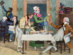 Le Restaurant, pub. by Rodwell and Martin, 1820 Poster Art Print by Francois Boucher