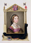 Portrait of Catherine Howard Poster Art Print by William the Younger Holl