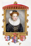 Portrait of Catherine Parr Poster Art Print by Gabriel Metsu