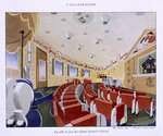 View of the childrens playroom on the 'Normandie', from 'L'Illustration' magazine, 1935 Poster Art Print by English School