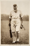 Dr W.G. Grace at the Oval, 1906 Poster Art Print by English School