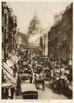 Fleet Street and St. Paul's, 1897, photograph from The Times Poster Art Print by English Photographer