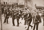 The Standard Oil Strike, Bayonne, New Jersey, 1915 Poster Art Print by English School