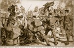 How three thousand British infantry at Le Cateau withstood nine thousand of the crack Prussian cavalry Poster Art Print by English Photographer