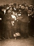 The arrest of Miss Dora Marsden, 30th March 1909 Poster Art Print by English Photographer