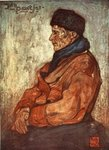 An Old Fisherman, 1904 Poster Art Print by French School