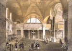 Haghia Sophia, plate 9: the new Imperial Gallery, engraved by Louis Haghe Poster Art Print by Giacomo Leonardis