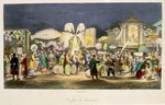 The Festival of the Lanterns, pub. by Formentin, 1824-27 Poster Art Print by French School
