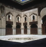 Inner Courtyard of the Mosque Poster Art Print by Lucy Willis