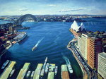 Sydney Harbour, PM, 1995 Poster Art Print by Ted Blackall