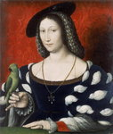 Princess Marguerite of Angouleme, c.1530 Poster Art Print by Francois Clouet