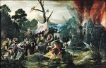 Fine Art Print of The Temptation of St. Anthony by Jean Mandyn