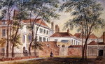 View of the House and Museum of the Late Duchess of Portland Poster Art Print by English School