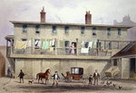 The Old Vine Inn, Aldersgate Street, 1855