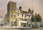 The Old George on Tower Hill Poster Art Print by Thomas Hosmer Shepherd