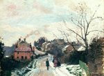 Fox hill, Upper Norwood, 1870 Poster Art Print by Alfred Sisley