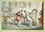 Harmony before Matrimony, 1805 Poster Art Print by Graham Dean