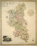 A New Map of the County of Buckinghamshire, 1816 Poster Art Print by English School