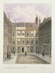 Bartlett's Buildings, Holborn, 1838 Poster Art Print by Jacques Francois Joseph Swebach