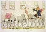 The Re-Electing of Reynard, or Fox the Pride of the Geese, 1783 Poster Art Print by Tom Merry