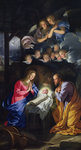 Nativity Poster Art Print by Camillo Procaccini