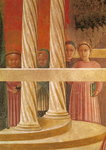 The Presentation of Mary in the Temple, 1433-34 Poster Art Print by English School
