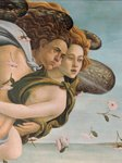 Zephyr and Chloris, detail from The Birth of Venus, c.1485 Poster Art Print by Sandro Botticelli