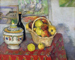 Still Life with Tureen, c.1877 Poster Art Print by Paul Cezanne