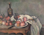 Still Life with Onions, c.1895 Poster Art Print by Paul Cezanne