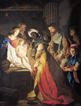 The Adoration of the Magi Poster Art Print by Bernardino Luini
