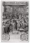 Dinner of Louis XIV Poster Art Print by Martin II Mytens or Meytens