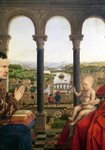 The Rolin Madonna Poster Art Print by Jan van Eyck