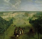 View of the Grand Trianon, 1722 Poster Art Print by Peter Nicholls
