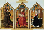 Triptych of Jean de Witte, 1473 Poster Art Print by French School