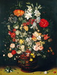 Vase of Flowers Poster Art Print by Jan Brueghel