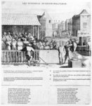 Acts and Violence of the Protestants, 1562 Poster Art Print by French School