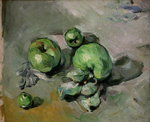 Green Apples, c.1872-73 Poster Art Print by Paul Cezanne