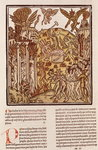 Hell, from 'La Cite de Dieu', 1486-87 Poster Art Print by Joseph Nash