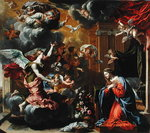The Annunciation, 1651-52 Poster Art Print by Luca Giordano