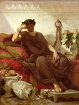 Damocles, 1866 Poster Art Print by French School