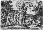 The Judgement of Paris Poster Art Print by Peter Paul Rubens