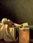 The Death of Marat, 1793 Poster Art Print by James E. Doyle
