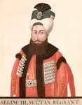 Sultan Selim III Poster Art Print by Thomas Couture