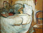 In Bed, 1894 Poster Art Print by Peter Paul Rubens