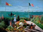 The Terrace at Sainte-Adresse, 1867 Poster Art Print by Max Ferguson