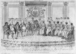 Sketch depicting Napoleon I and the sovereigns at the ball given by the city of Paris on 4th December 1809 Poster Art Print by Sir Godfrey Kneller