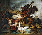 Sketch of The Ransack of Jerusalem by the Romans, 1824